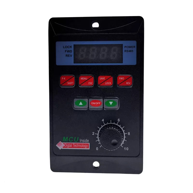 Variador de frecuencia. entrada monofásica 220V salida trifásica 220V